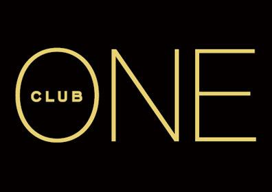 The ONE Club logo on a black background