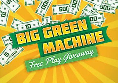 Big Green Machine Free Play Giveaway Gaming Promotion