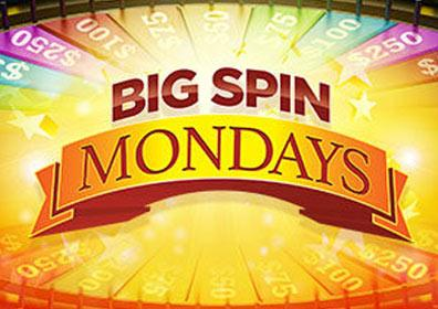 Big Spin Monday's Casino Promotion