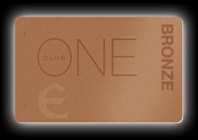 The ONE Club Bronze Card from Eldorado Resorts, available at Eldorado Scioto Downs
