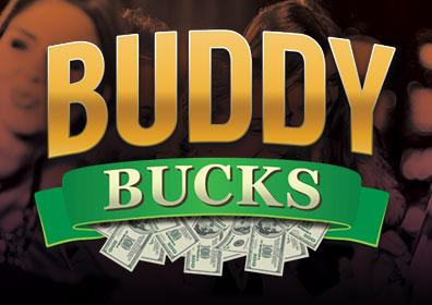Advertisement for Buddy Bucks at Eldorado Scioto Downs