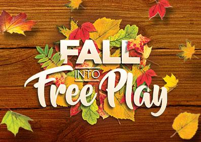 Advertisement for Fall Into Free Play at Eldorado Scioto Downs