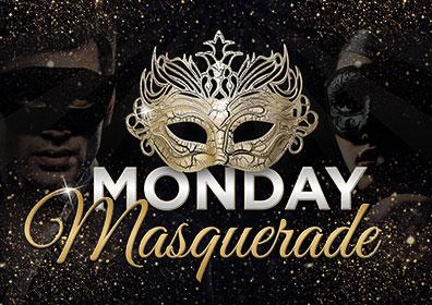 Advertisement for Monday Masquerade at Eldorado Scioto Downs