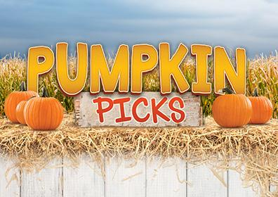 Advertisement for Pumpkin Picks at Eldorado Scioto Downs