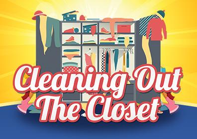 Advertisement for Cleaning Out the Closet at Eldorado Scioto Downs