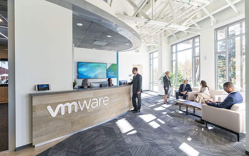Vmware discovery center reception