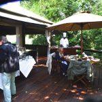 Safari outoor dinning
