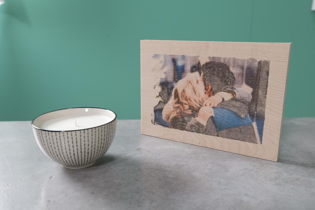 how to make a diy wood photo transfer. Black Bedroom Furniture Sets. Home Design Ideas