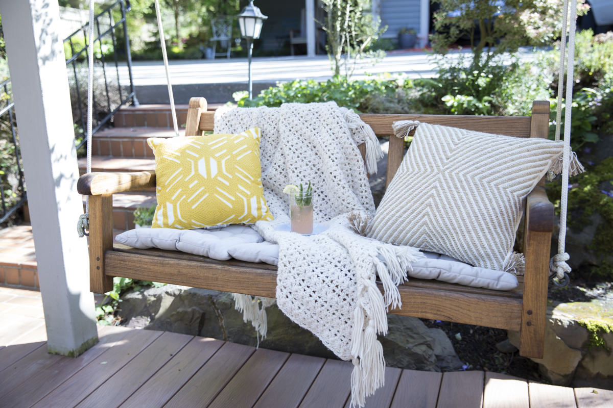 How To Refresh A Porch Swing With Teak Oil   Home Improvement Projects To  Inspire And Be Inspired | Dunn DIY | Seattle Part 49