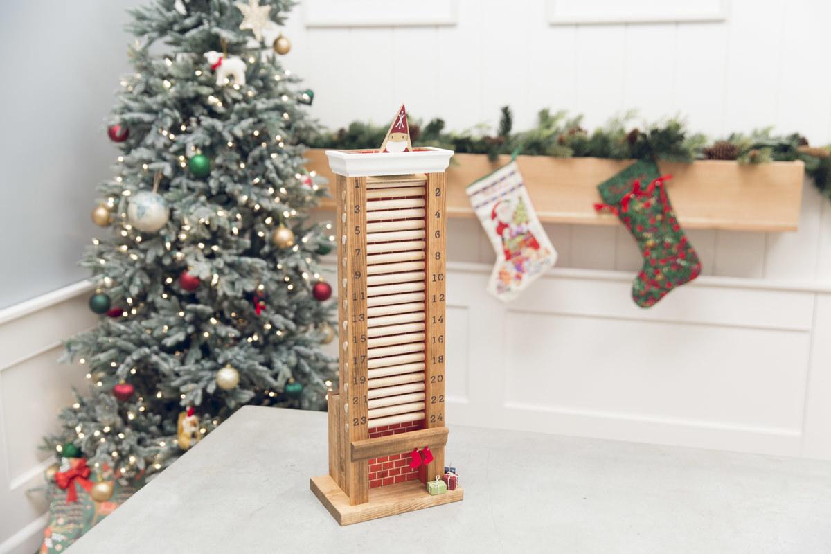 How To Make A Wooden Advent Calendar Diy Advent Calendar