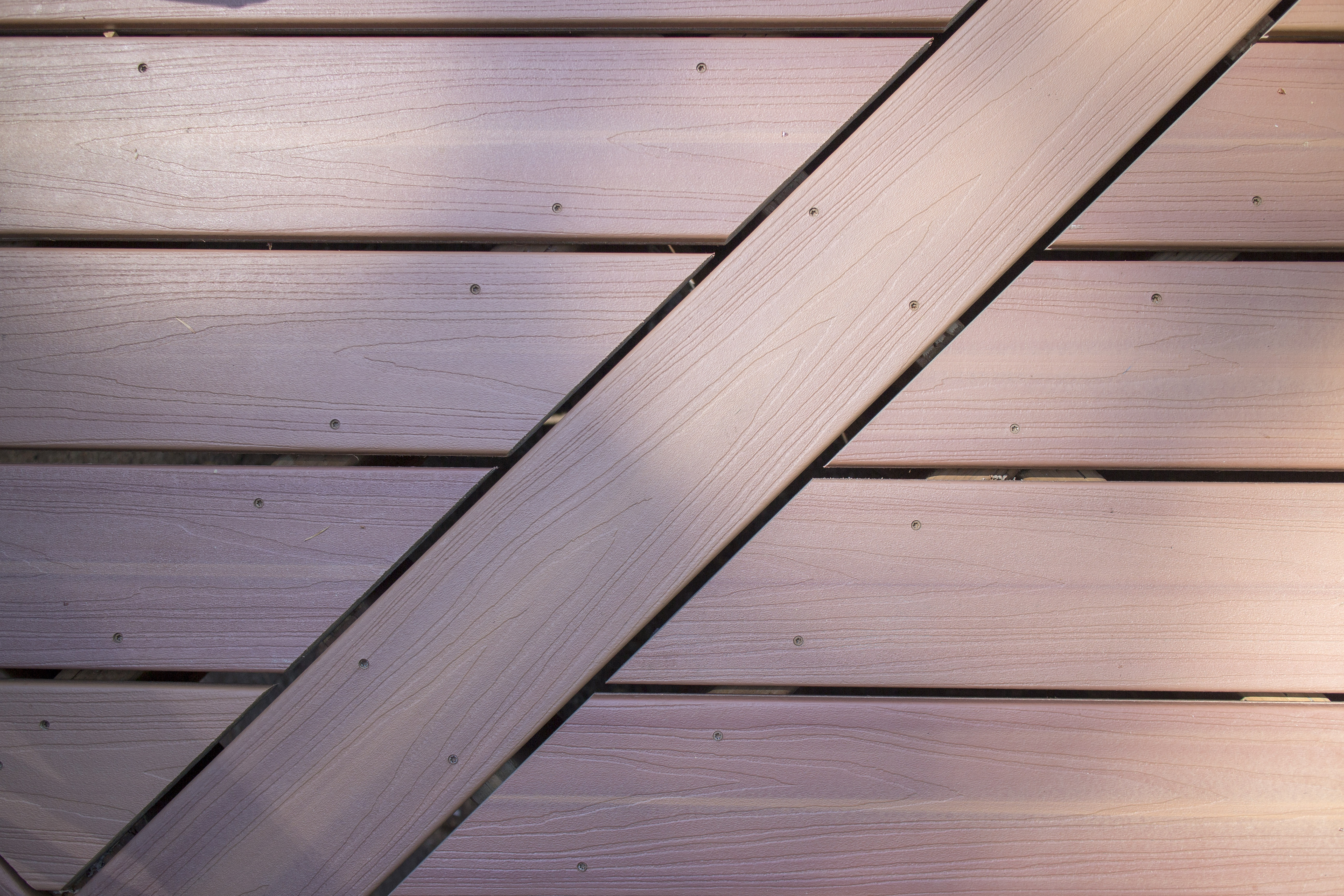 How to clean a composite deck dunn solutions for Dunn lumber