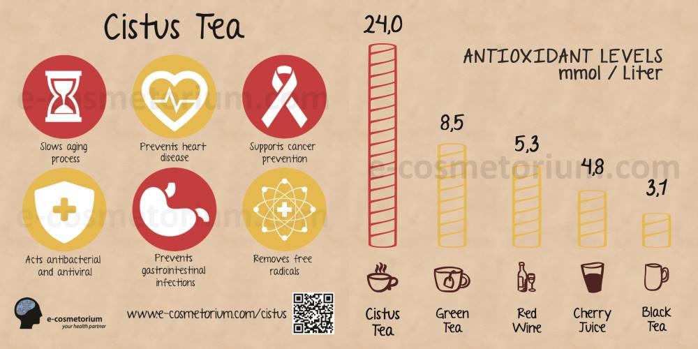 cistus antioxidant levels