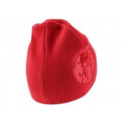 EMBOSSED BEANIE CAP