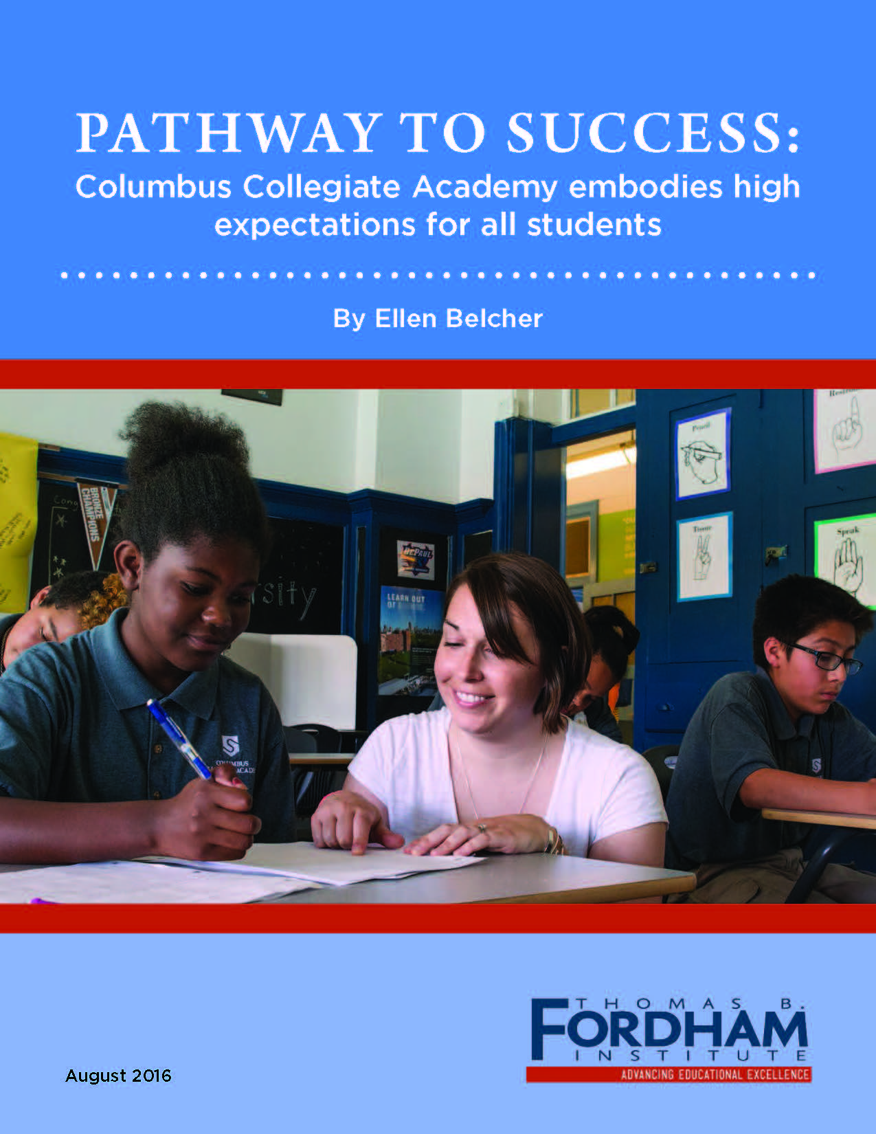 pathway to success columbus collegiate academy embodies high pathway to success columbus collegiate academy embodies high expectations for all students