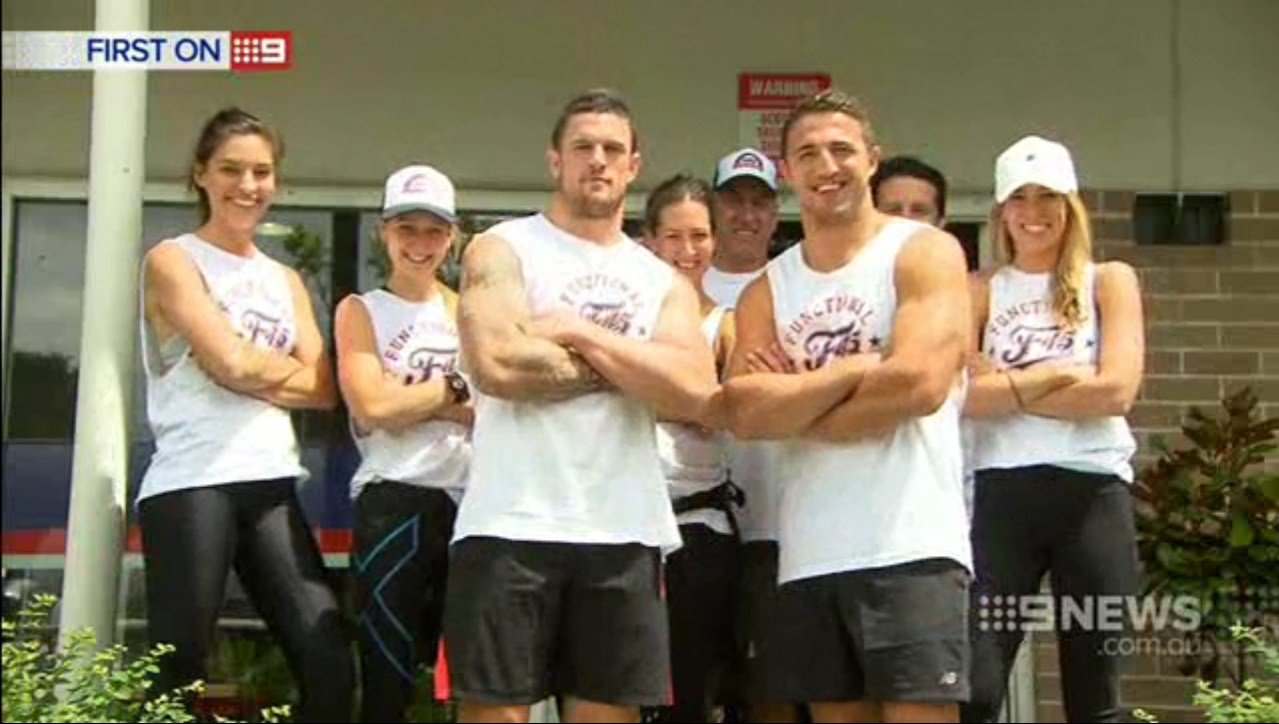 Channel 9 News Sam Burgess