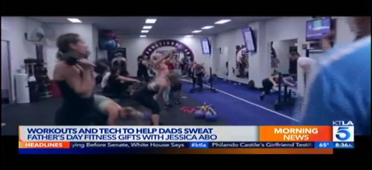 KTLA 5 on new F45 Studio in the US