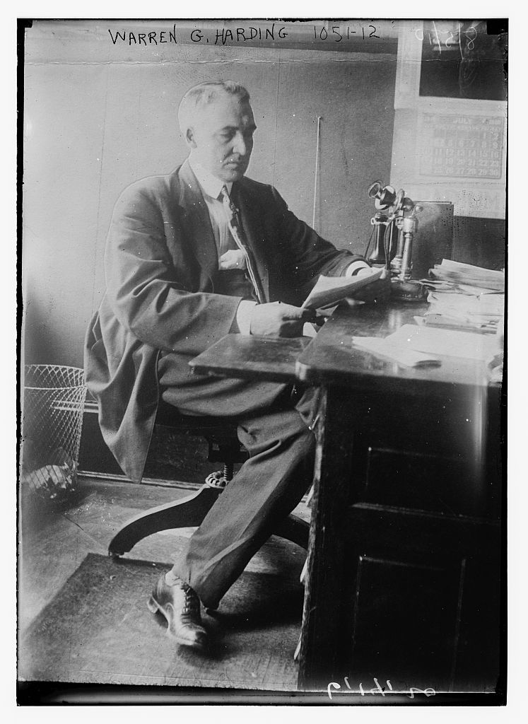 the life and contributions of warren gamaliel harding