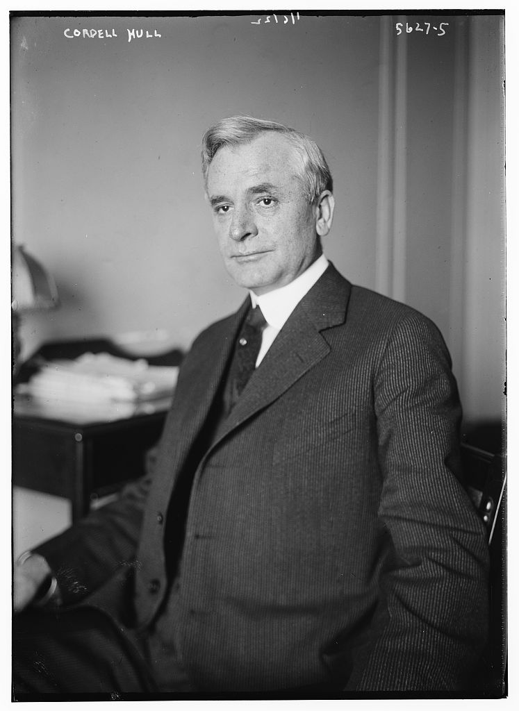 cordell hull essay Secretary of state cordell hull describes the inception and development of the declaration by united nations in his memoirs roosevelt papers: telegram [34.