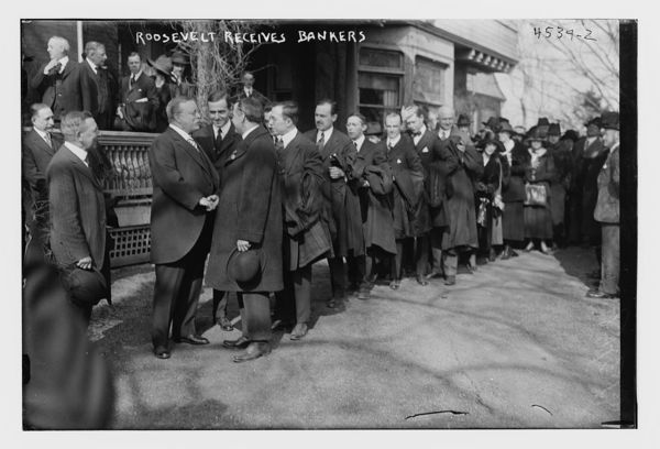 Business Men Gather at The Roosevelt's
