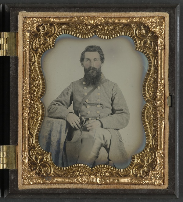 Captain Joel Houghton Abbott of Co. K, 22nd Virginia Infantry Regiment, and Co. H, 8th Virginia Cavalry Regiment