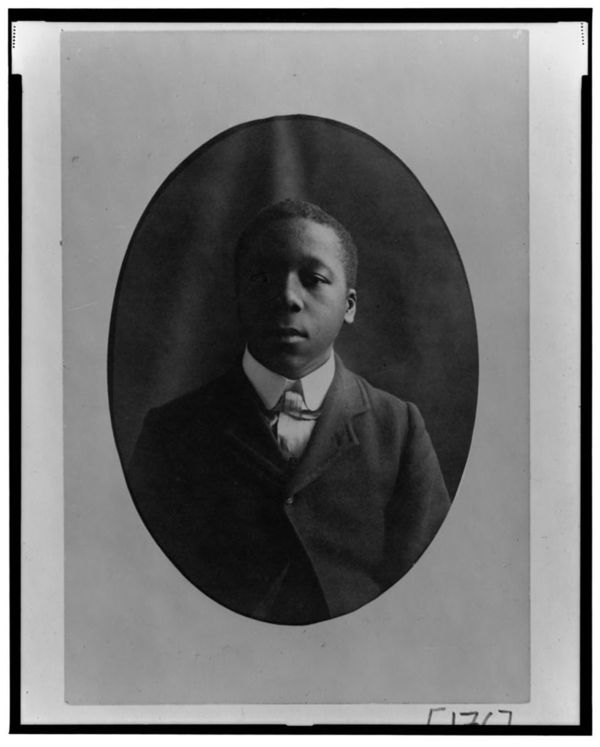 African American man, head-and-shoulders portrait, facing front