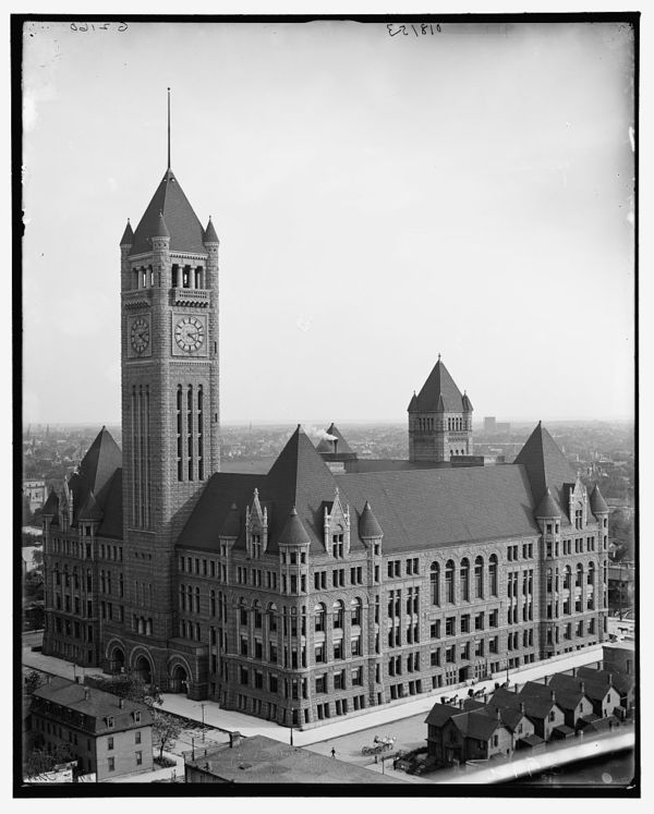 Court House and City Hall, Minneapolis, Minn.