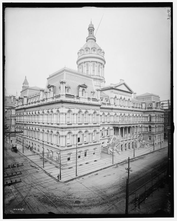 City Hall, Baltimore, Md.