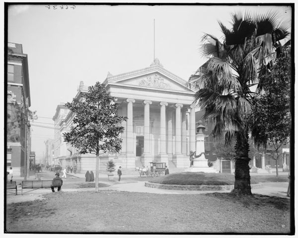 City hall, Lafayette Square, New Orleans, La.