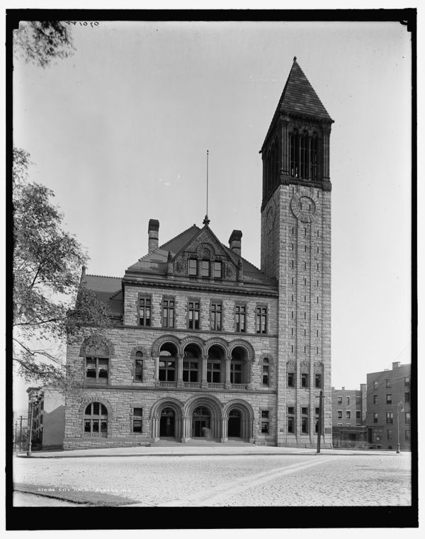 City Hall, Albany, N.Y.
