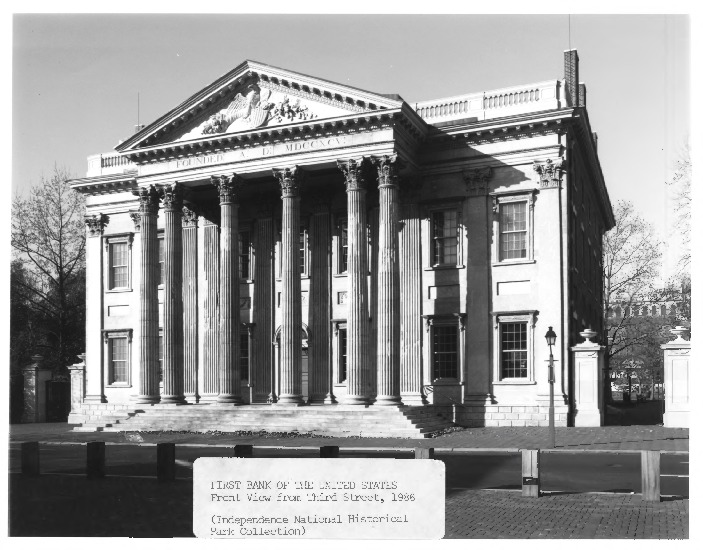 first bank of the united states The first bank of the united states is significant because the institution provoked the first great debate over strict consequently, the constitution.