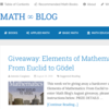 Math-Blog: Mathematics is wonderful!