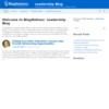 BlogNotions' Leadership Blog