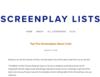 Screenplay Lists | Screenplay Blog