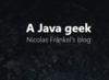 A Java geek