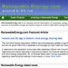 Renewable Energy Blog