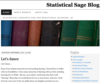 Statistical Sage Blog | Dedicated to Teaching Statistics