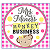 Mrs. Miner's Kindergarten Monkey Business