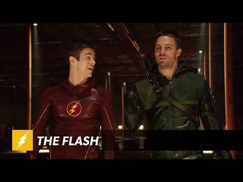 PROMO FOR FLASH vs. ARROW IS HERE