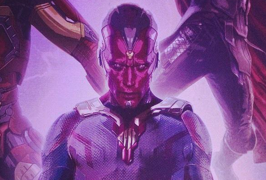 NEW PROMO ART GIVES US OUR FIRST GOOD LOOK AT THE VISION IN AVENGERS: AGE OF ULTRON from LEGION OF LEIA