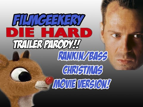 Check Out This Christmas Movie Trailer Mash-Up: Rudolph + Die Hard = FLY HARD!