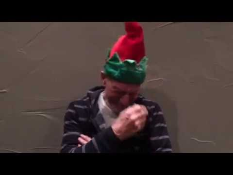 Sweet Hat, Bro! Did Patrick Stewart Lose a Christmas Bet?