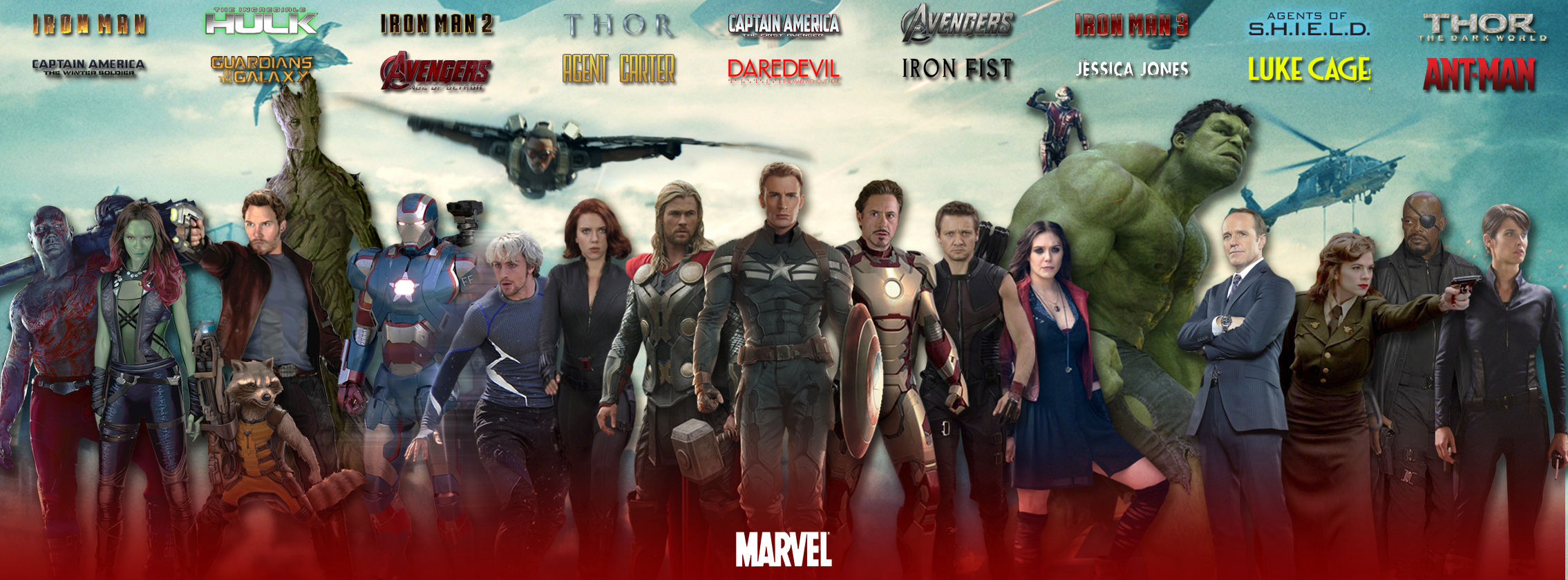 AMC to Offer Fans the Chance to Watch All Ten Films of the MCU Before Avengers: Age of Ultron