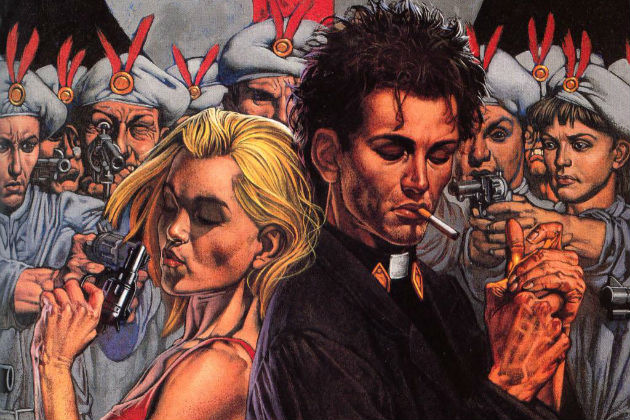 AMC's Preacher Visits a Snowy Foreign Country in this Pic from Set