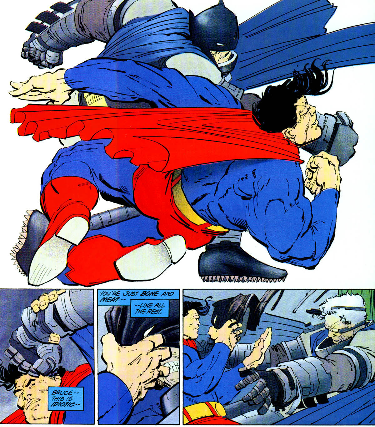 SPOILER-ISH NEWS: Who Throws the First Punch in Batman v. Superman: Dawn of Justice