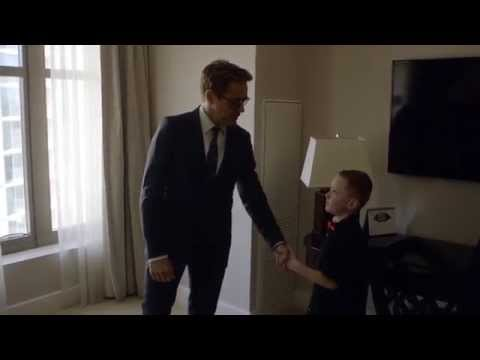 Tony Stark Gives a Little Boy a New Bionic Arm for #CollectiveProject