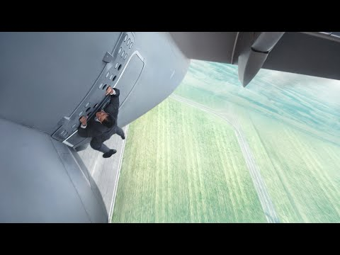 Tom Cruise Dangles Outside an Airbus in Mission Impossible 5 Trailer.
