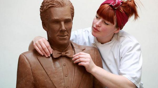 A Chocolate Benedict Cumberbatch Statue Exists