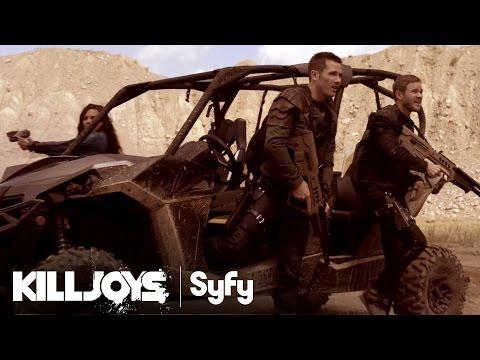 Official Trailer for Syfy's New Space Bounty Hunter Thriller: Killjoys!