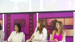 Geena Davis And Pals Read Highlights From Movies With Male Dominated Casts.