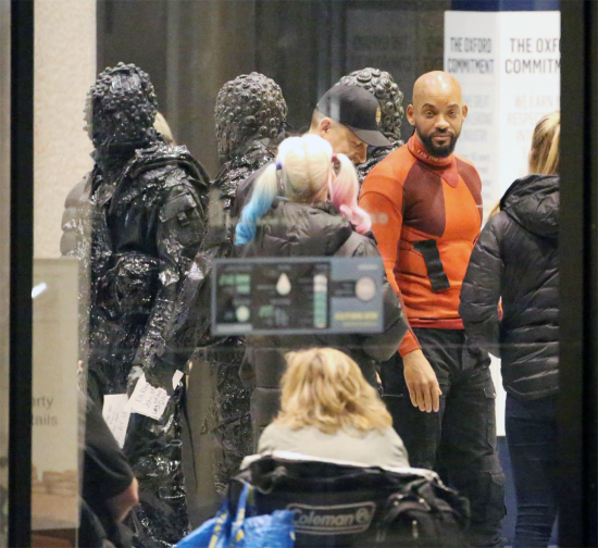 These Pics Beg the Question: Will Suicide Squad Fight Inter-Dimensional Monsters?